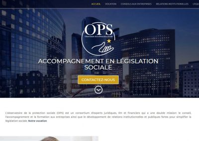 Observatoire de la Protection Sociale