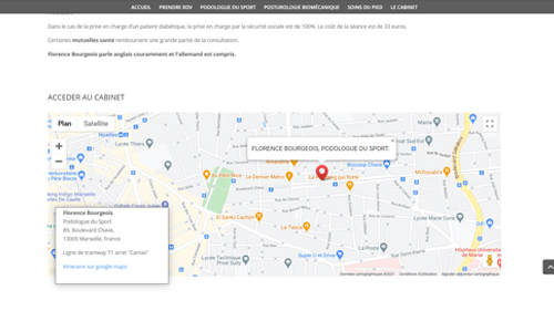 screenpodomarseille2 Site Podologie